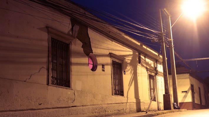 Catedral destruida y 30 casas afectadas es el catastro de daños tras sismo de alta intensidad en La Serena