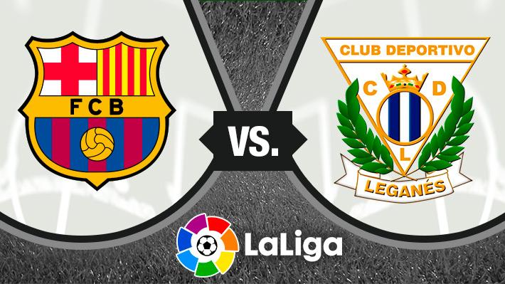 Reviva la victoria del Barcelona sobre el Leganés por la Liga