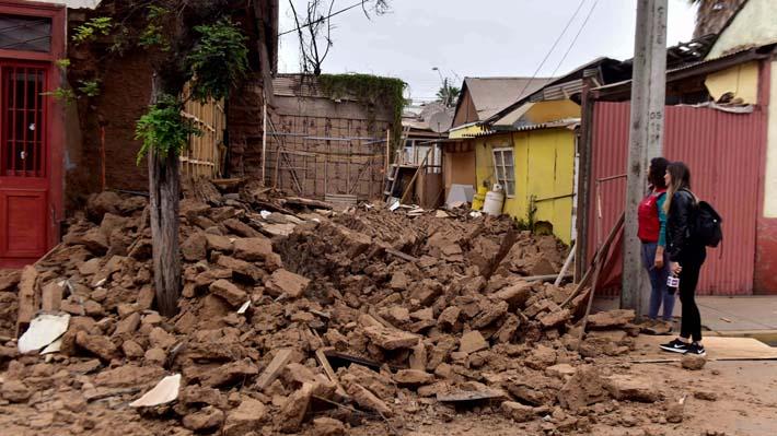 Sismo de magnitud 6,7 en Coquimbo deja al menos 20 damnificados y seis viviendas inhabitables en Andacollo