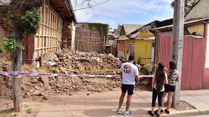 Alcalde de Coquimbo pide al Gobierno declarar zona de catástrofe a la comuna por daños tras el sismo