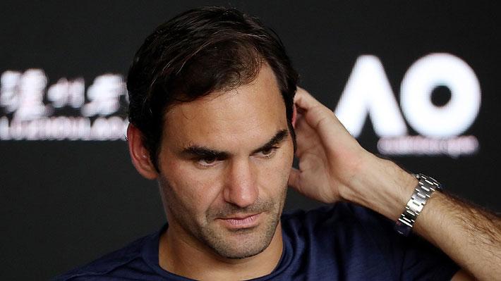 El inesperado anuncio con el que Roger Federer sorprendió tras ser eliminado del Abierto de Australia