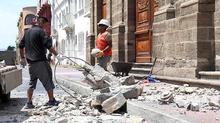 """Sismo: Intendenta de Coquimbo asegura que """"no se justifica"""" decretar zona de catástrofe"""