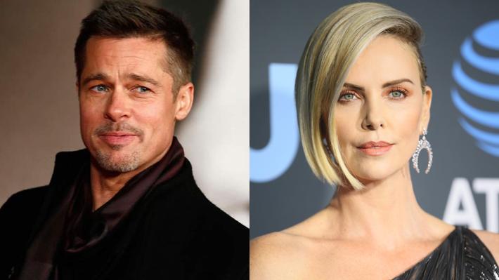 Medio británico asegura que Brad Pitt mantiene una relación con Charlize Theron