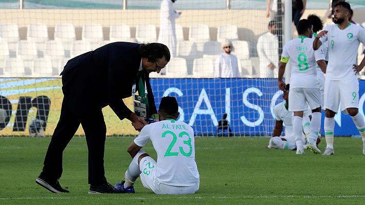 Arabia Saudita de Pizzi cayó con Japón y quedó eliminada en los octavos de final de la Copa de Asia