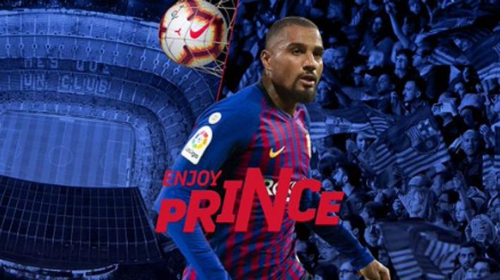 El Barcelona de Arturo Vidal confirma al ghanés Kevin Prince Boateng como su nuevo refuerzo