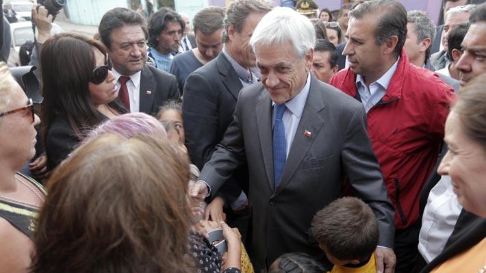 """Piñera tras sismo en Coquimbo: """"Puedo comprometerme a que el grueso de la reconstrucción la vamos a hacer este año"""""""