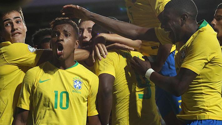 Ganaron Colombia y Brasil: Mira cómo quedó el grupo de Chile y lo que viene en el Sudamericano Sub 20