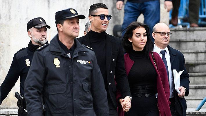 Cristiano Ronaldo es condenado a 23 meses de prisión y multado con cerca de 19 millones de euros