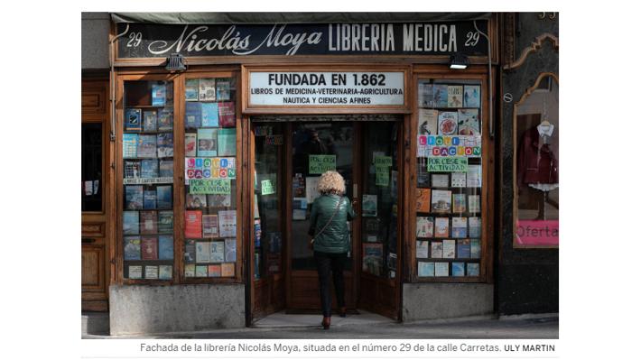 Tras 157 años: La crisis y la venta online acaban con la librería más antigua de Madrid