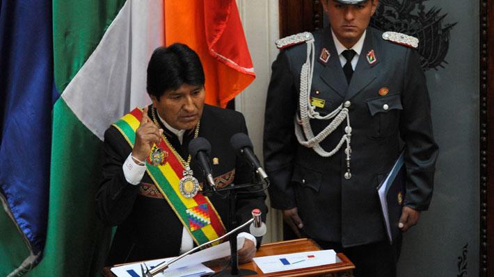 """Bolivia: Evo Morales afirma que demanda marítima ante Chile está """"más vigente que nunca"""""""