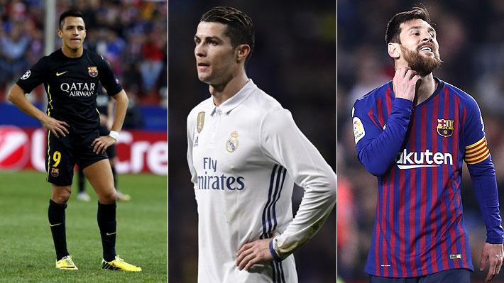 Alexis, Cristiano, Messi... Las figuras que han sido condenadas a prisión por fraude al fisco
