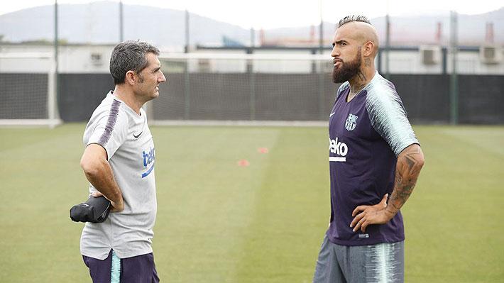 Valverde pone a Vidal como ejemplo ante pregunta que cuestiona el fichaje de Kevin Prince Boateng