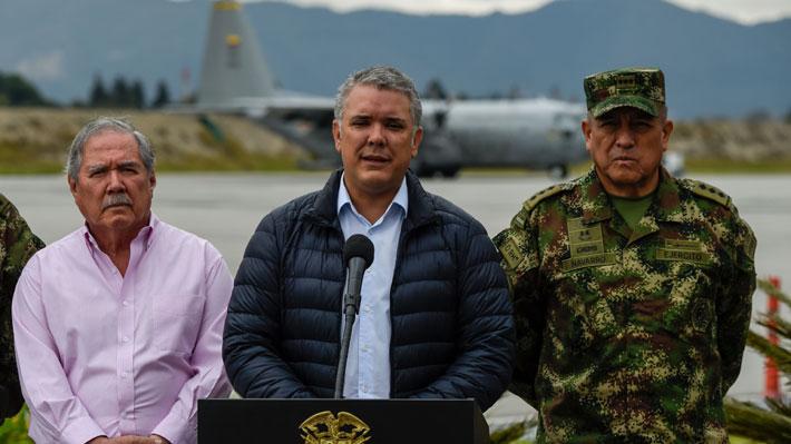 Atentado en Colombia: Duque se reúne con líderes militares e insiste a Cuba que entregue a miembros del ELN