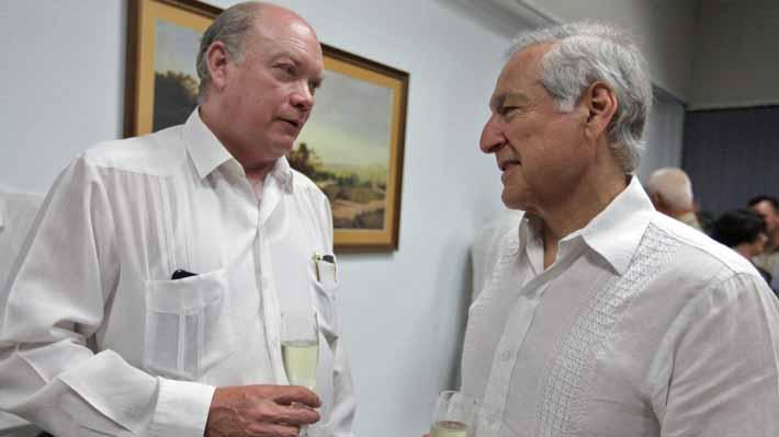 Cuba en el centro del capitalismo mundial: Ministro de Comercio Exterior busca inversiones en Davos