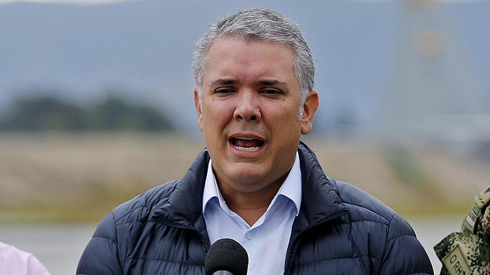 Presidente Duque responsabiliza a miembros del ELN en Cuba de atentado en Colombia