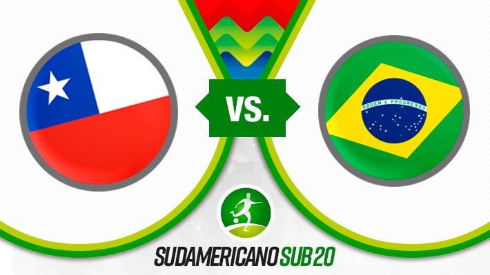 Repasa el triunfazo de Chile sobre Brasil en el Sudamericano Sub 20