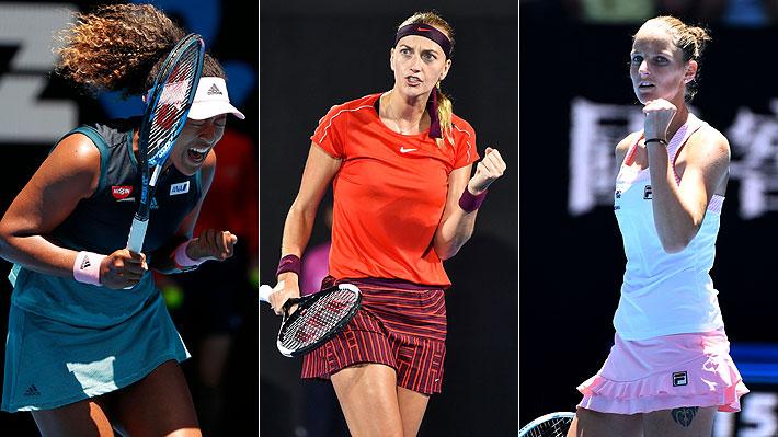 Reñida y emocionante lucha: Las tres semifinalistas del Abierto de Australia que se pelean el número 1 del mundo