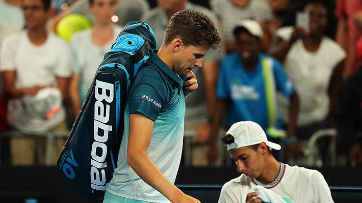 Crecen las opciones para Chile: Dominic Thiem, número 8 del mundo, finalmente no jugará la Copa Davis