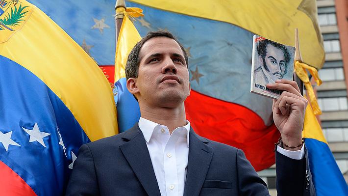 """Opositor Juan Guaidó se proclama """"Presidente encargado"""" de Venezuela: Trump y la OEA lo reconocen como Mandatario"""