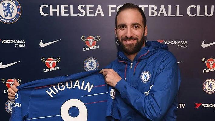 Gonzalo Higuaín deja Italia y tendrá su primera experiencia en la Premier League tras firmar con el Chelsea