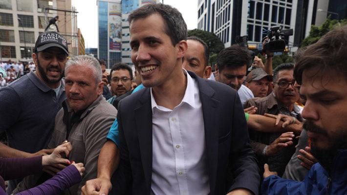 Guaidó pidió a todas las embajadas en Venezuela que mantengan su presencia diplomática en el país