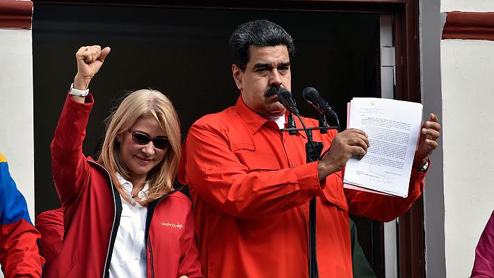 """Maduro acusa """"golpismo"""" en su contra y rompe relaciones """"diplomáticas y políticas"""" con EE.UU."""