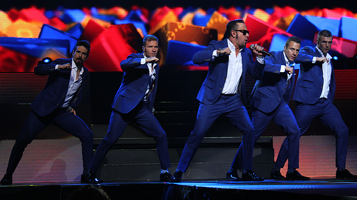 Confirman show de Backstreet Boys para el Festival de Viña 2019