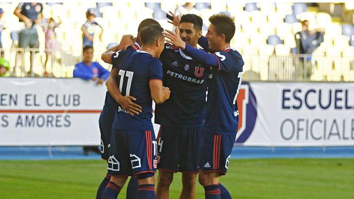 La U ahora derrota a Universitario de Perú y Kudelka deja en claro el 11 estelar que ya va consolidando para esta temporada