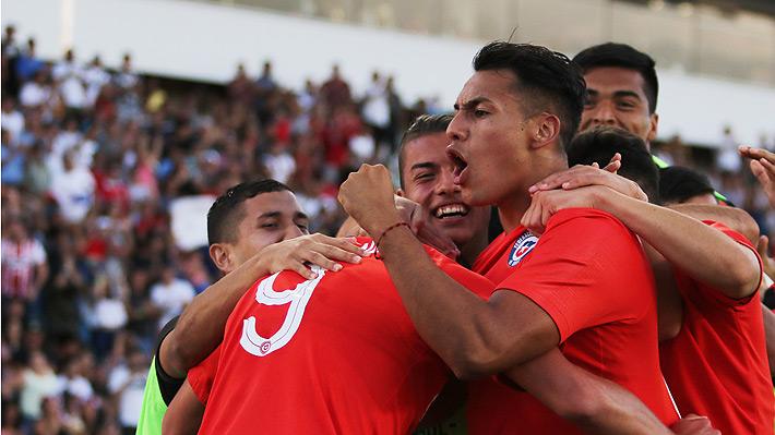 """La """"Roja"""" Sub 20 muestra carácter al vencer a Brasil en su mejor partido del Sudamericano y quedó a un punto del hexagonal"""