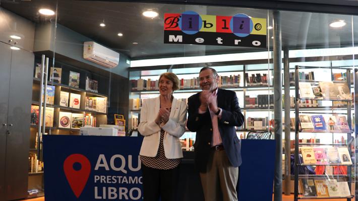 Inauguran primer Bibliometro en Valparaíso: Contará con ejemplares de 400 textos diferentes