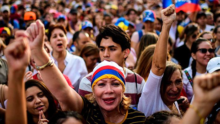 Fotos: #GritemosConBrio, venezolanos se manifestaron en distintas partes del mundo contra el régimen de Nicolás Maduro