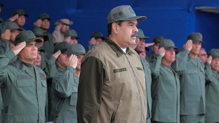 El apoyo militar que sustenta a Maduro en el poder ante la arremetida de Guaidó
