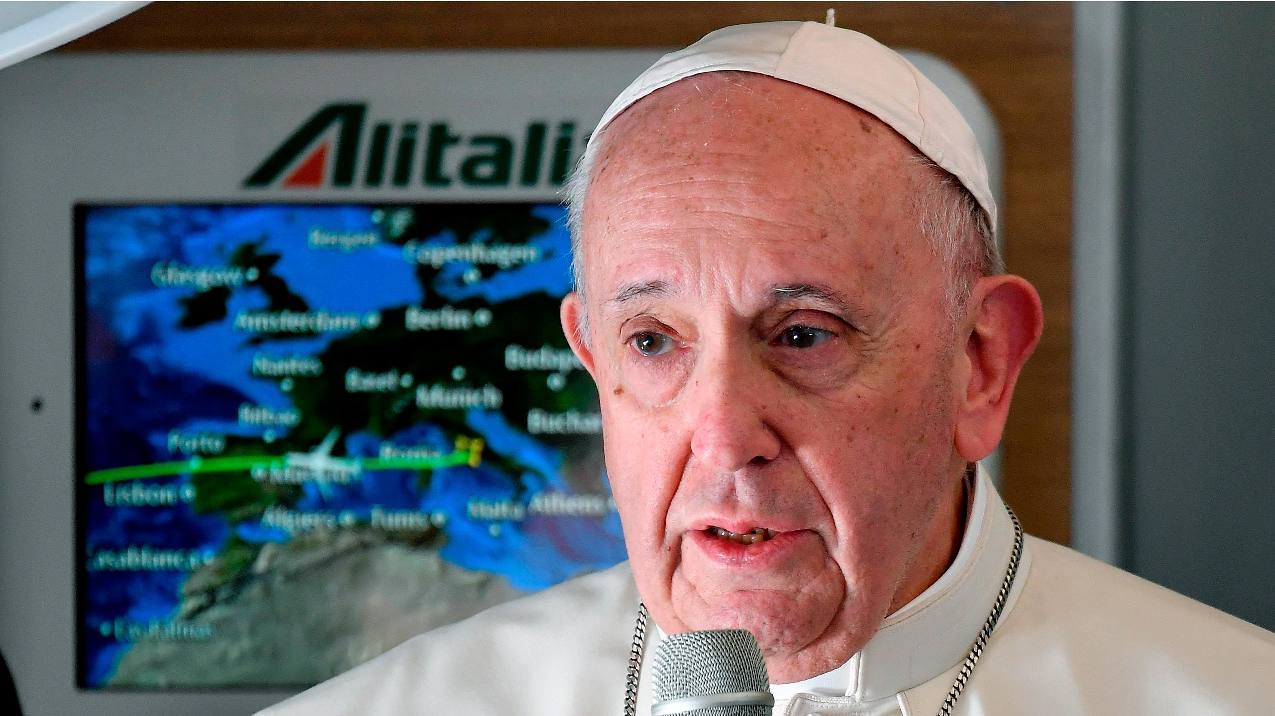 """Papa Francisco apoya """"todos los esfuerzos"""" para evitar el sufrimiento en Venezuela"""