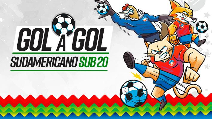 Resultados y programación de la cuarta fecha del Grupo B del Sudamericano Sub 20
