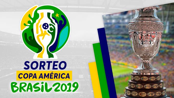 Mira cómo fue el minuto a minuto del sorteo de la Copa América 2019