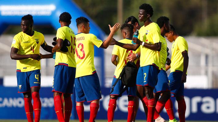 Ecuador venció a Perú y junto a Venezuela son los primeros clasificados al hexagonal final del Sudamericano Sub 20