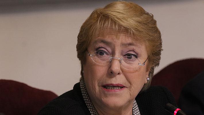 Michelle Bachelet condena la violencia y represión contra manifestantes en Venezuela