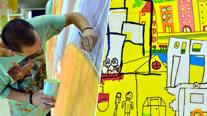 Murales hechos por niños y megaproyectos fotográficos: Las novedades que trae MetroArte en la Línea 3