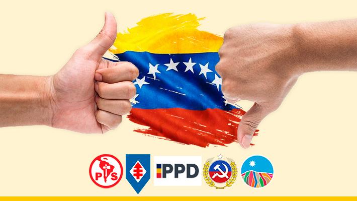 División en el FA y PPD marca distancia de la ex NM: Las diferentes posturas de la oposición sobre Venezuela