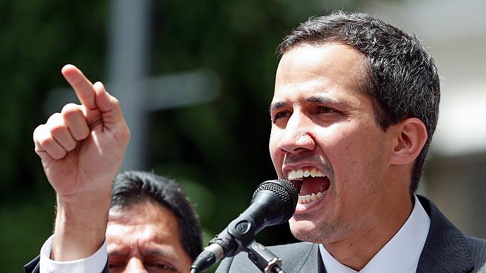 Guaidó condiciona un diálogo con Maduro a la realización de elecciones libres en Venezuela