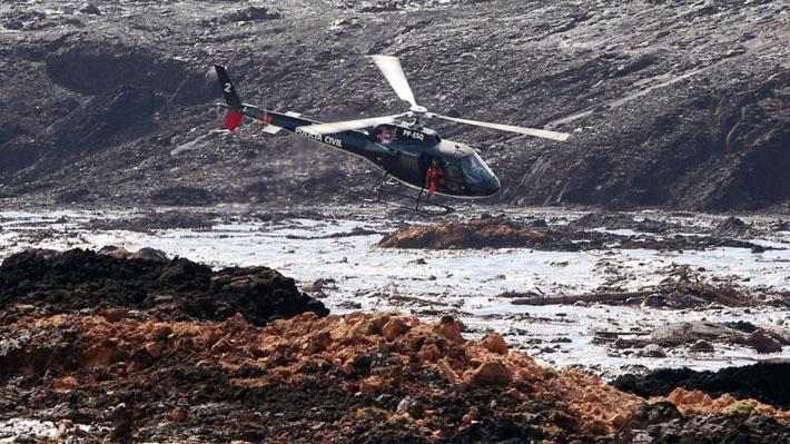 Rotura en represa minera de Brasil deja al menos siete muertos y 150 desaparecidos