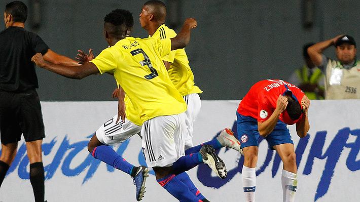 """La """"Roja"""" Sub 20 de Robles suma otro fracaso tras perder de manera increíble en el 95' y queda fuera de su Sudamericano"""