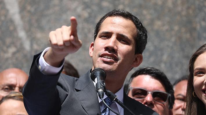 """Guaidó envía saludo a Piñera por el """"hermoso respaldo a esta lucha democrática"""" y asegura que """"no hay ningún tipo de temor"""""""