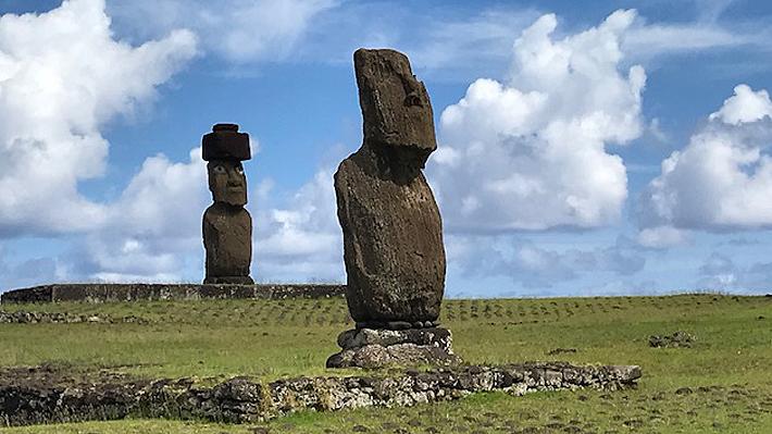 Esculpirán el primer moái de gran tamaño dedicado a una mujer en Isla de Pascua