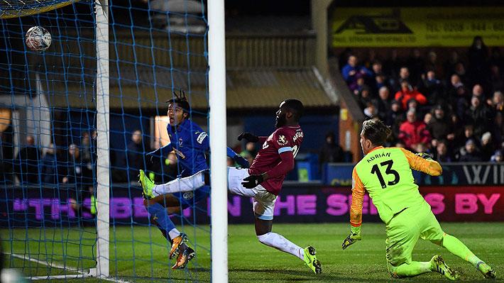 Manuel Pellegrini sufrió su primer fracaso con el West Ham y quedó eliminado de la FA Cup ante un equipo de tercera división