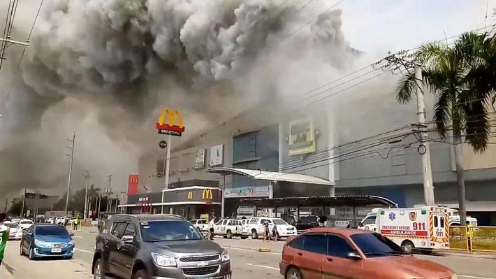 Dos bombas explotan frente una catedral católica en Filipinas y dejan a 19 víctimas fatales