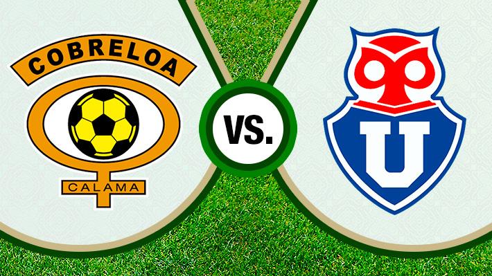 Repasa la derrota de la Universidad de Chile ante Cobreloa en partido amistoso