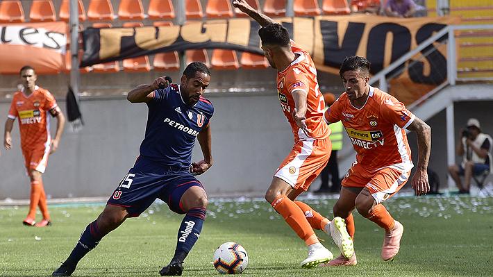 Una deslucida Universidad de Chile cae ante Cobreloa en un nuevo examen de cara a su debut por Copa Libertadores