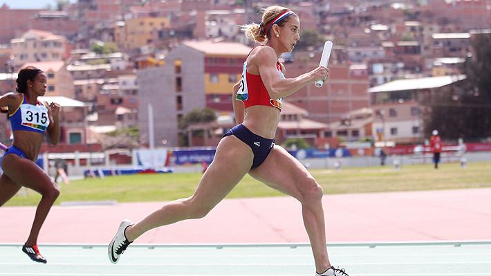 Isidora Jiménez tiene un gran arranque de año y bate récord chileno en 200 metros indoor