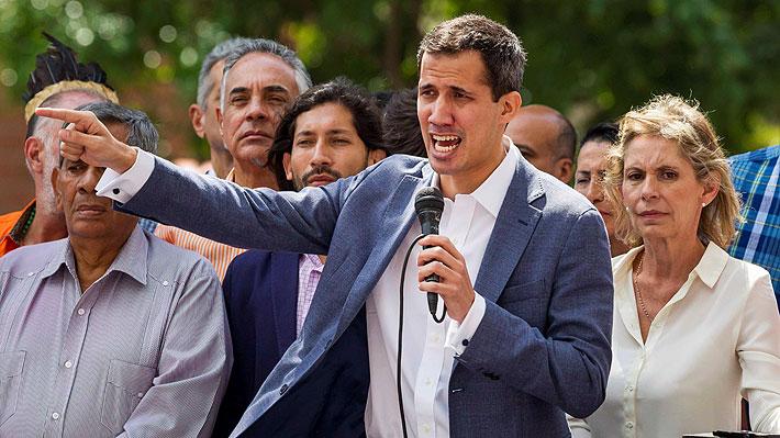 Guaidó asegura que trabajará para forzar la salida de Nicolás Maduro de forma pacífica